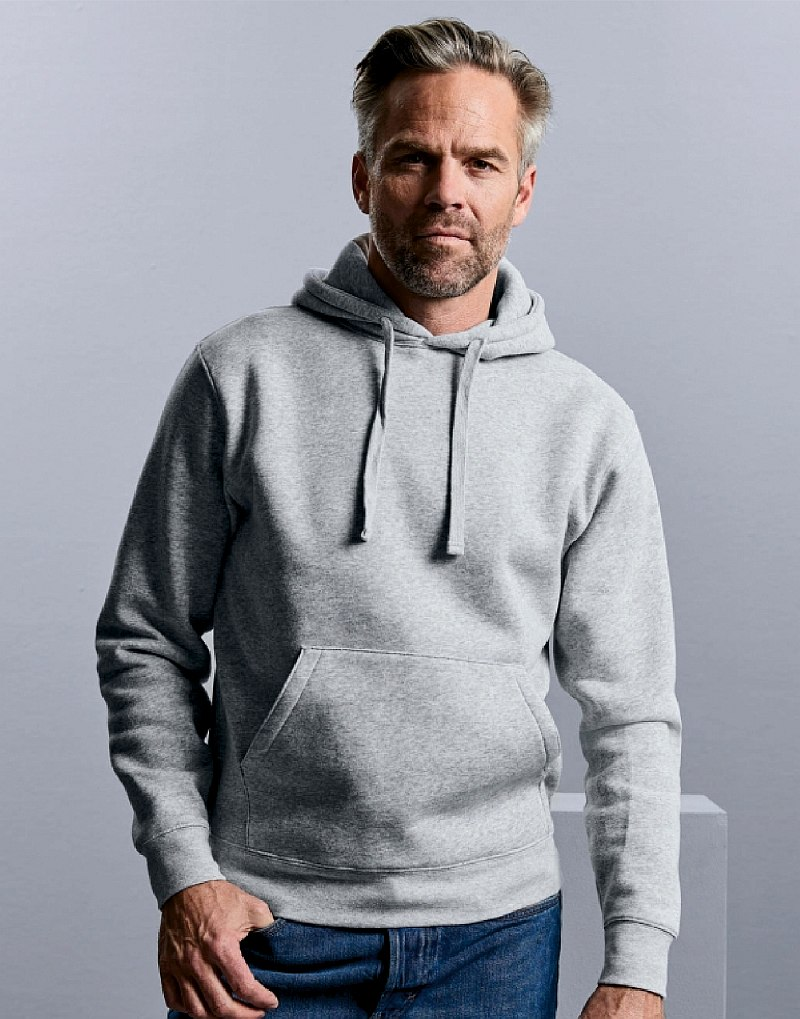 russell men authentic hooded sweat