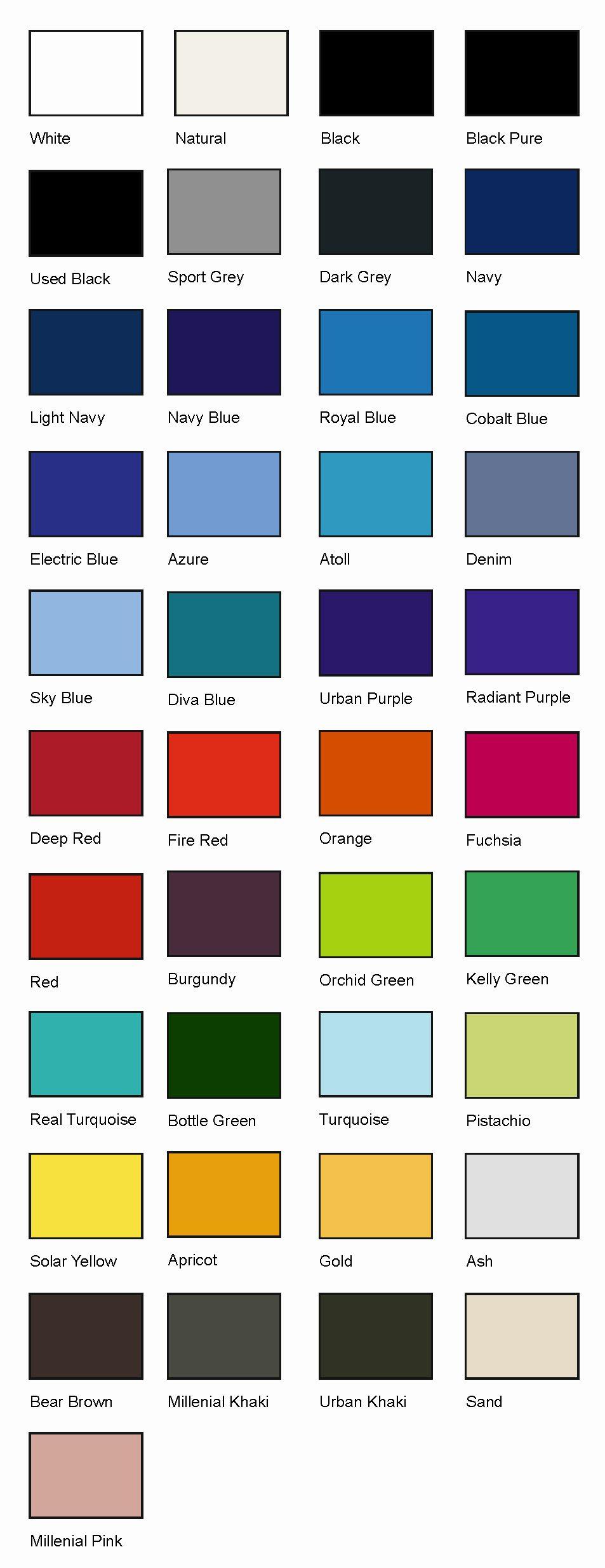 boje majica